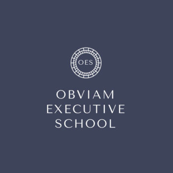 Obviam Executive School Logotipo Grande